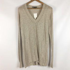 Vince   Long Sleeve V-Neck Sweater neutral